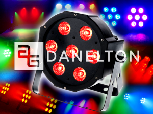 LED-PAR-RGBWAUV-DANELTON